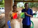 Handing out brand new dictionaries